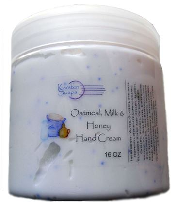 Picture of 16 Oz Oatmeal Milk & Honey Hand Cream