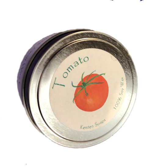 Picture of Tomato Soy Wax Candle Tin